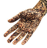Henna tattoo — Stock Photo