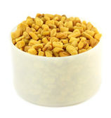 Fresh fenugreek seeds — Stock Photo