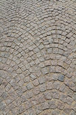 Detail of a cobbled road. — Stock Photo