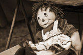 Raggedy Ann Doll — Stock Photo