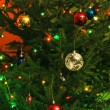Stock Photo: New-Year tree decorations