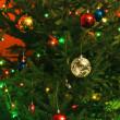 New-Year tree decorations — Stock Photo