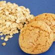 Oatmeal cookies — Stockfoto