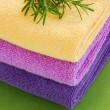 Colorful towels — Stock Photo #6887385