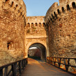 Belgrade fortress gate — Stockfoto