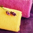 Foto Stock: Colorful towels