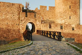 Belgrade fortress gate — Stock Photo