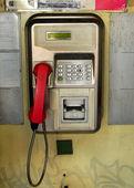 Public telephone — Stock Photo