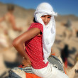 Girl tourist — Stockfoto