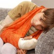 Stock Photo: Boy with broken arm