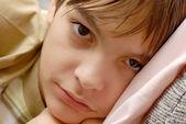 Retrato de menino — Fotografia Stock
