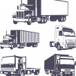 Trucks VECTOR — Stock Vector #7183578