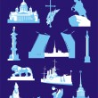Saint Petersburg VECTOR - Stock Vector
