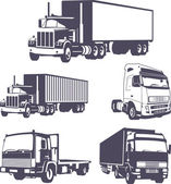 Trucks VECTOR — Stock Vector