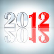 New Year 2012 background — Stock Photo