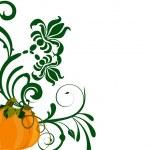 Autumn pumpkin — Stock Vector #6948273