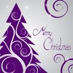 Noel kartı — Stok Vektör #7245761