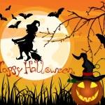 Halloween poster — Stock Vector #7363751