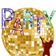 Royalty-Free Stock Vector Image: Party - disco