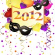 New years eve 2012 — Stock Vector #7717321