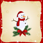 Kerstkaart — Stockvector