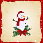 Tarjeta de navidad — Vector de stock