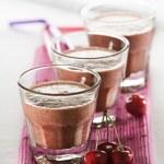 Cherry smoothie — Stock Photo #7509559