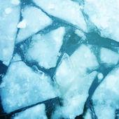 Texture of ice . Vector — Stock Vector
