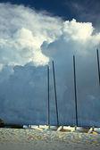 Storm wolken — Stockfoto