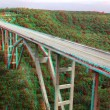 Stereo photo of bridge - Stock Photo