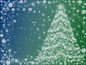Christmas tree green — Stock Photo