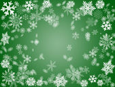 Winter 2 in green — Stock Photo