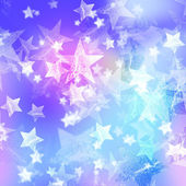 Blue and pink stars — Stock Photo