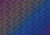 Binary — Stock Vector