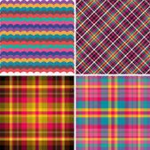 Vector patterns color ideas — Stock Vector