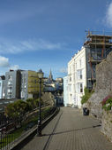 St Marys Church View In Tenby — Stock Photo