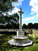 Graveyard Cross — Stock Photo