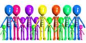A Diverse Workforce — Stock Photo