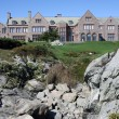 Stock Photo: Mansion in Newport, Rhode Island