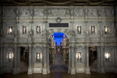 Teatro Olimpico interior in Vicenza — Stock Photo