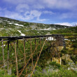 Foto Stock: Old Train Trestle