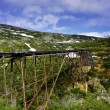 Stock Photo: Old Train Trestle