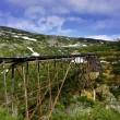 古い鉄道トレッスル — ストック写真