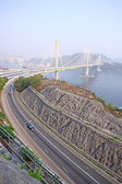 Ting Kau Bridge — Stock Photo