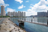Coast in the city — 图库照片