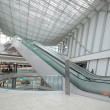 Stock Photo: Escalator in the shopping mall