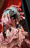 čínská opera figuríny, hledá po fázi — Stock fotografie