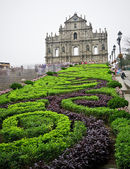 Macao famous building at day — Stock Photo