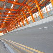 Interior of urban tunnel without traffic - Foto de Stock