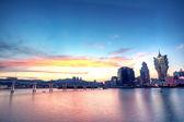 Macao v noci — Stock fotografie
